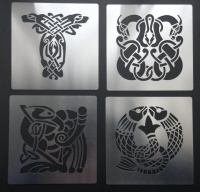 Celtic Animal Knot 7cm Stencil