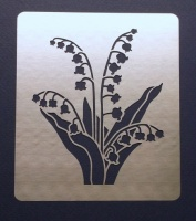 Lily of the Valley Stencil