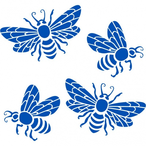 Honey Bee - set of 4 Stickers
