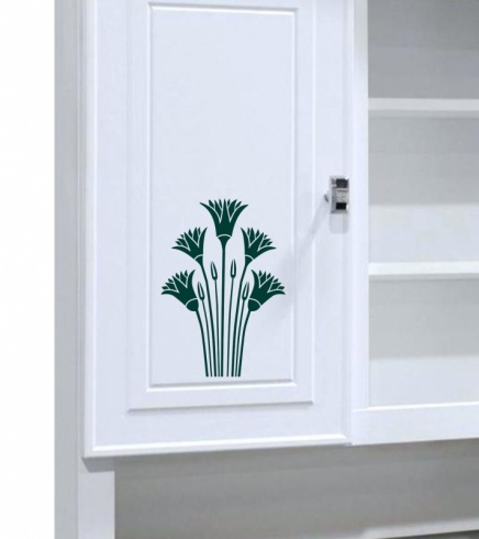 Egyptian Lotus Wall Sticker