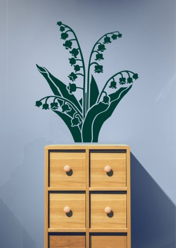 Lily of the Valley Wall Sticker