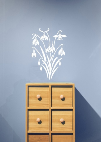 Snowdrops Wall Sticker