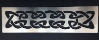 Celtic Knot Band Stencil