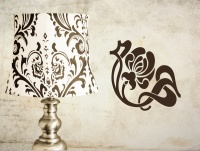 Art Nouveau Corners Wall Stickers