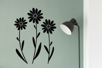 Daisy Trio Wall Stickers