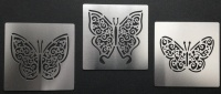 Lattice Filigree Lace Butterfly Stencil