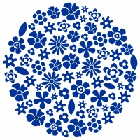Flower Ball Sticker