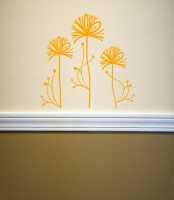 Flowerheads Wall Sticker
