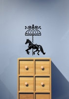 Carousel Horse Wall Sticker